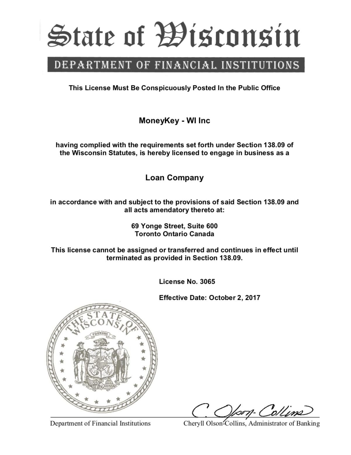 Online Installment Loans For Wisconsin Residents